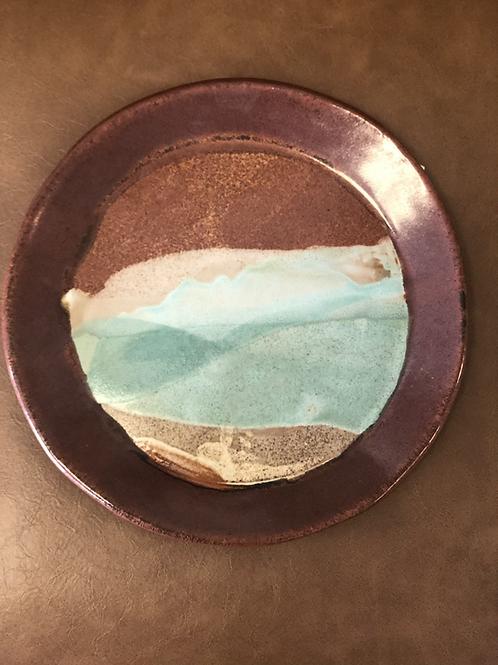 Red Rust Rim Plate