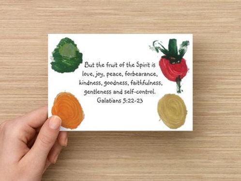 Ellie's Fruit of the Spirit Postcards