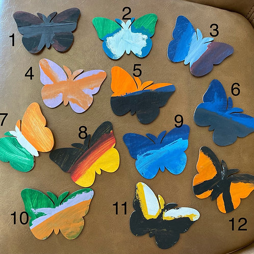 Butterfly Magnets by Chase ($2 each)