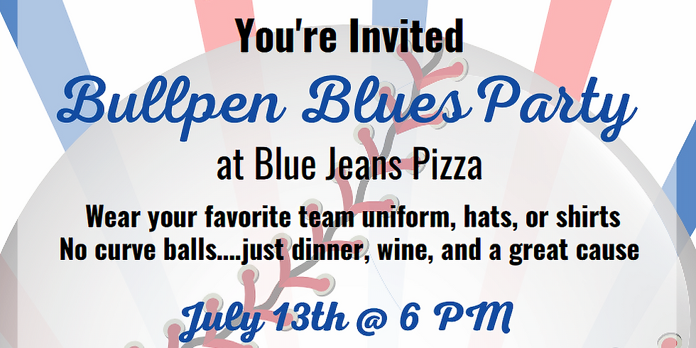NGAF Bullpen Party at Blue Jeans Pizza