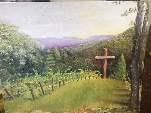 Sign of the Cross at Engelheim Vineyard