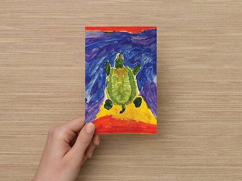 Turtle Postcards by Erik