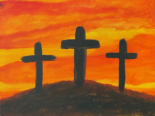 At the Cross 9x12
