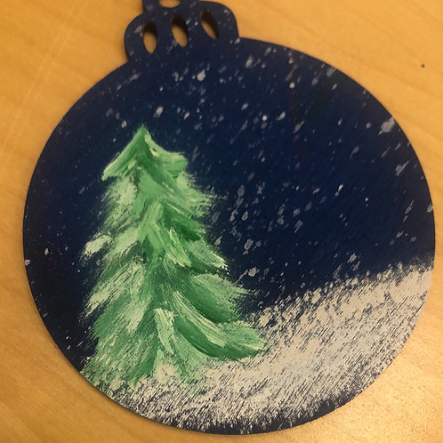 Winter Tree Ornament by Brian Stahl