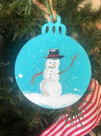 Snowman Ornament by Brian