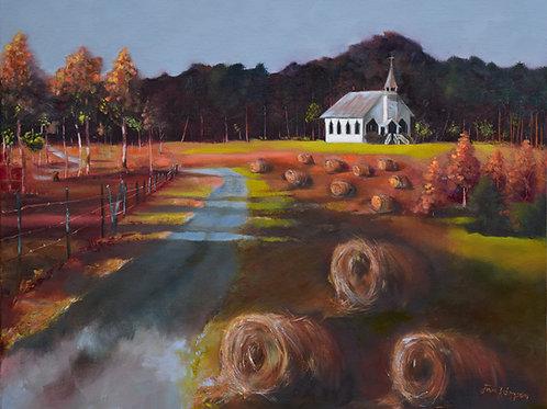 Spiritual Harvest- Levi Chapel by Jan Kornegay Dappen