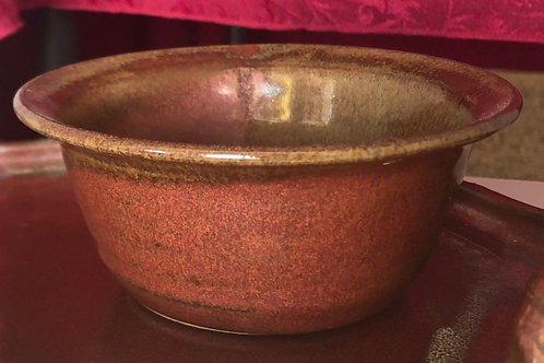 Small Bowl- rust red