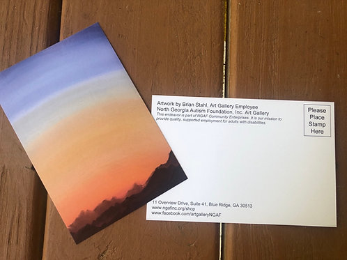 Sun Arising Postcards
