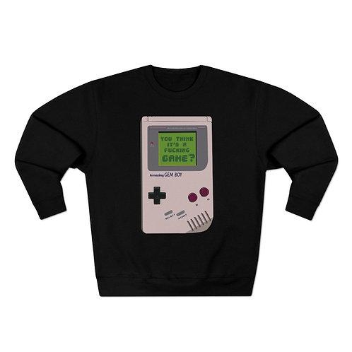 Game Boy Sweatshirt
