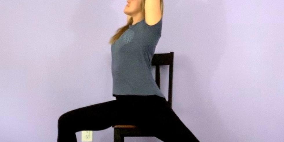 30 Mins Mobility-Based Chair Yoga