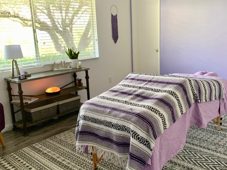 Making A Sacred Space - Massage Room Remodel