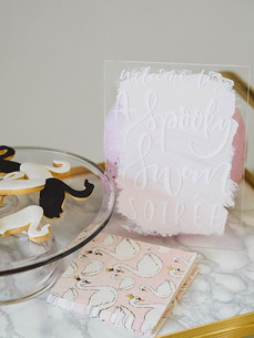 Swan themed birthday party ideas