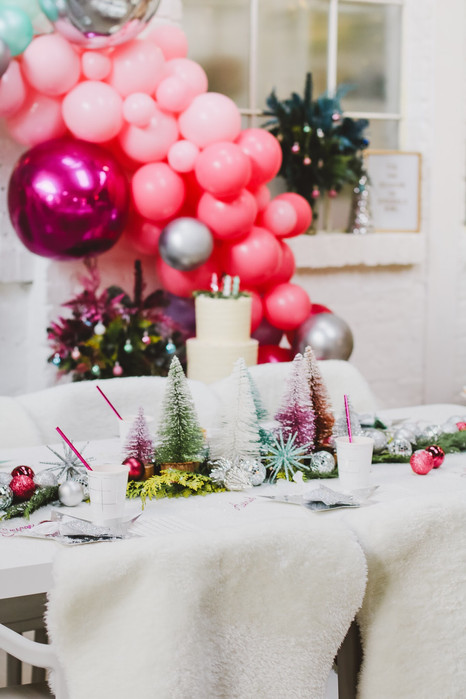 Jewel toned Christmas party ideas