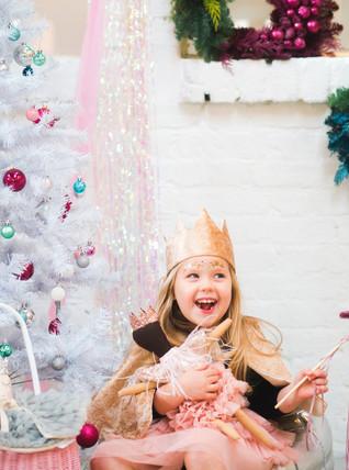 velvet christmas kids dress up