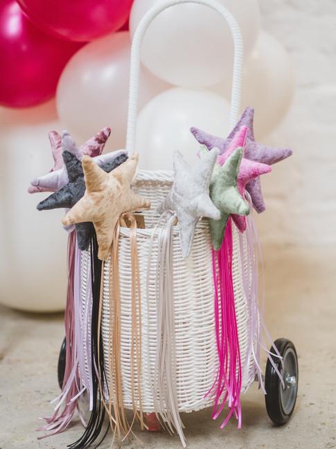 Luxury dress up velvet wands