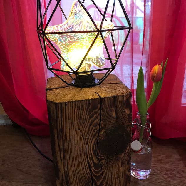 Altholzlampe