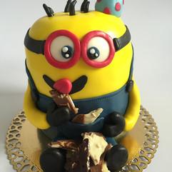 Minions Torte