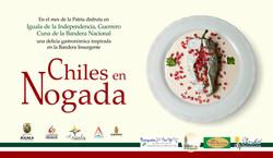 Chiles en nogada restaurantes