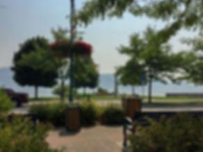 Peachland Park at the Beach