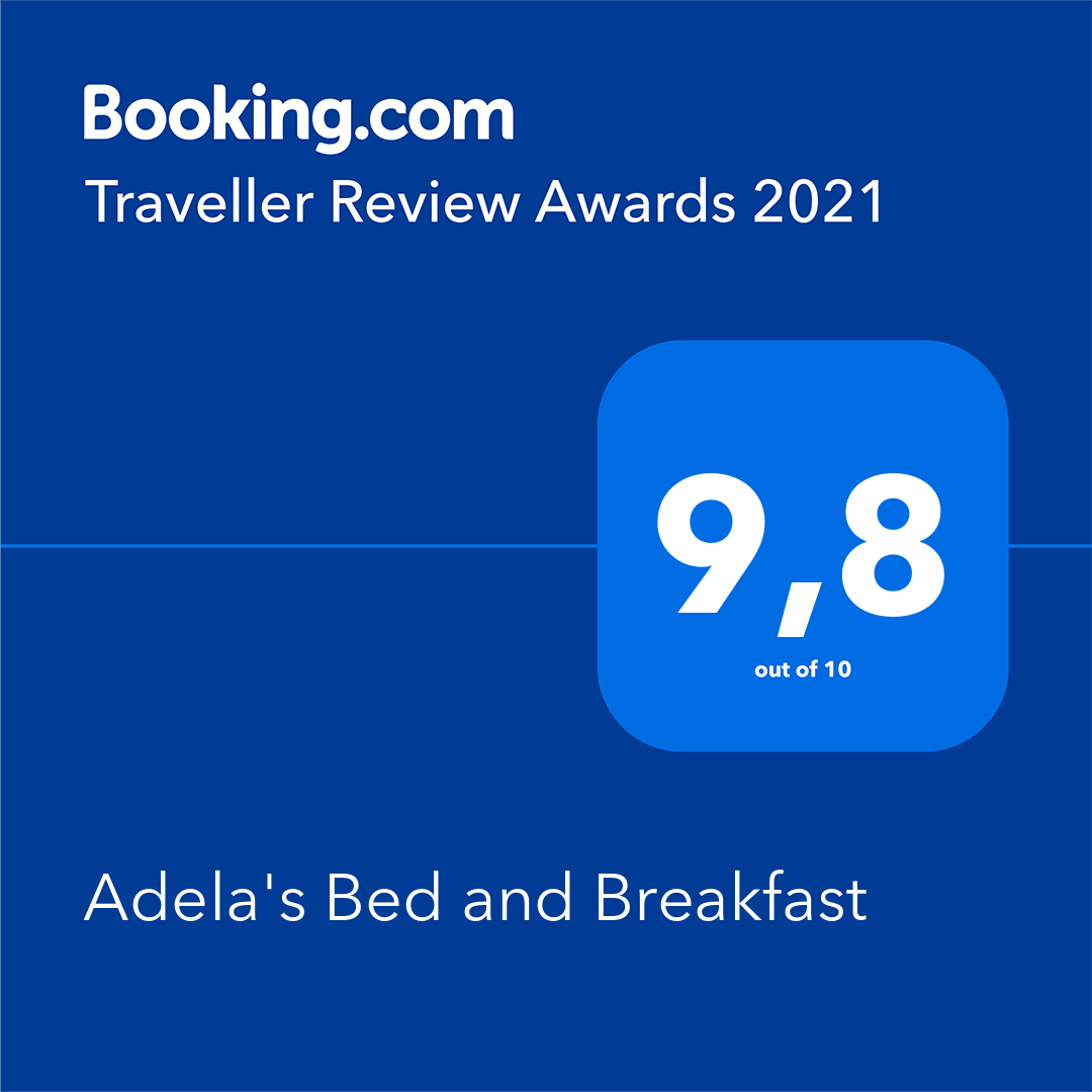 2021 Booking.com Award 9.8 out of 10