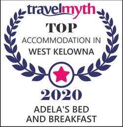 2020 Top Accommodation Award