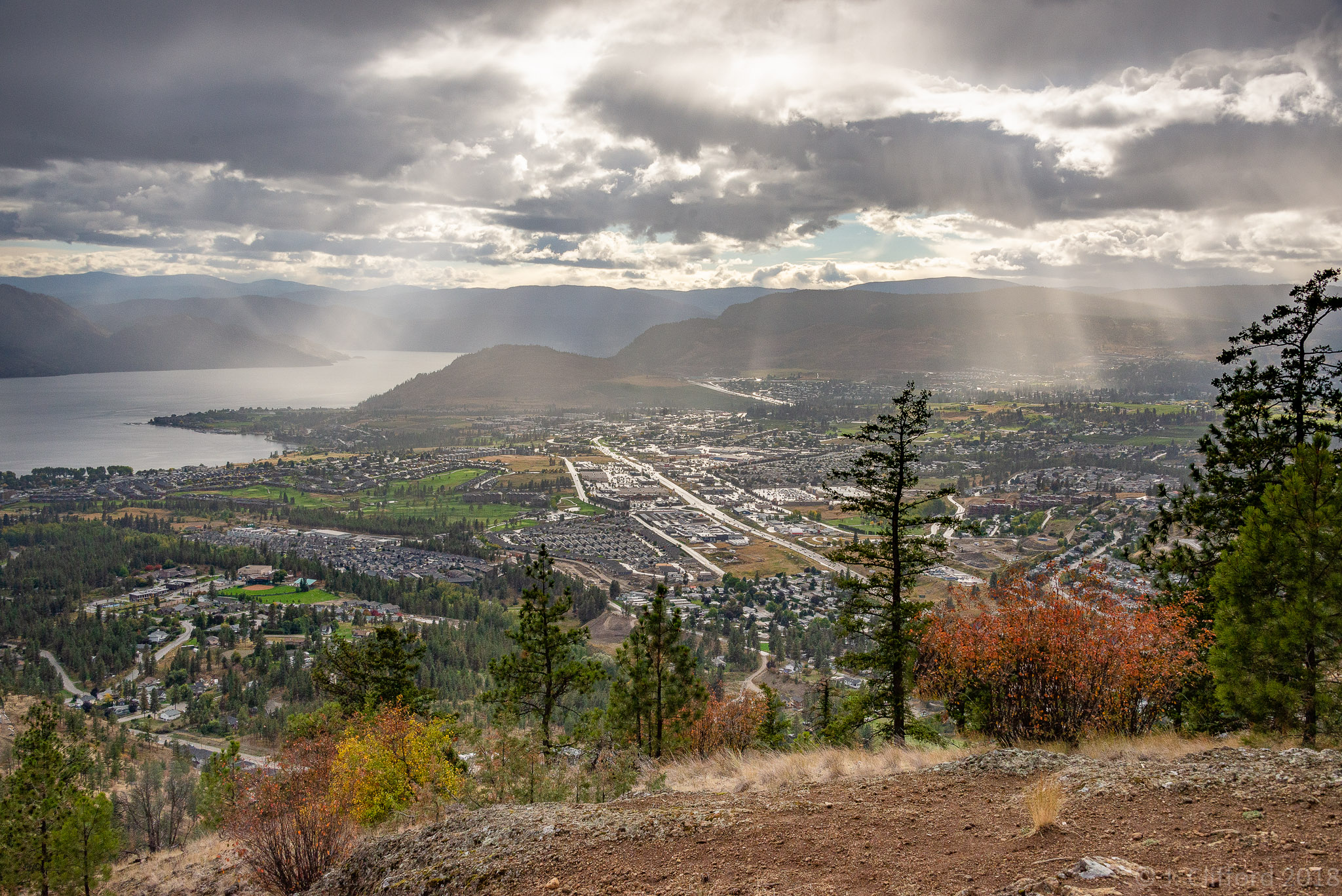 Mount Boucherie, West Kelowna, BC