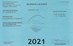 2021 Business License