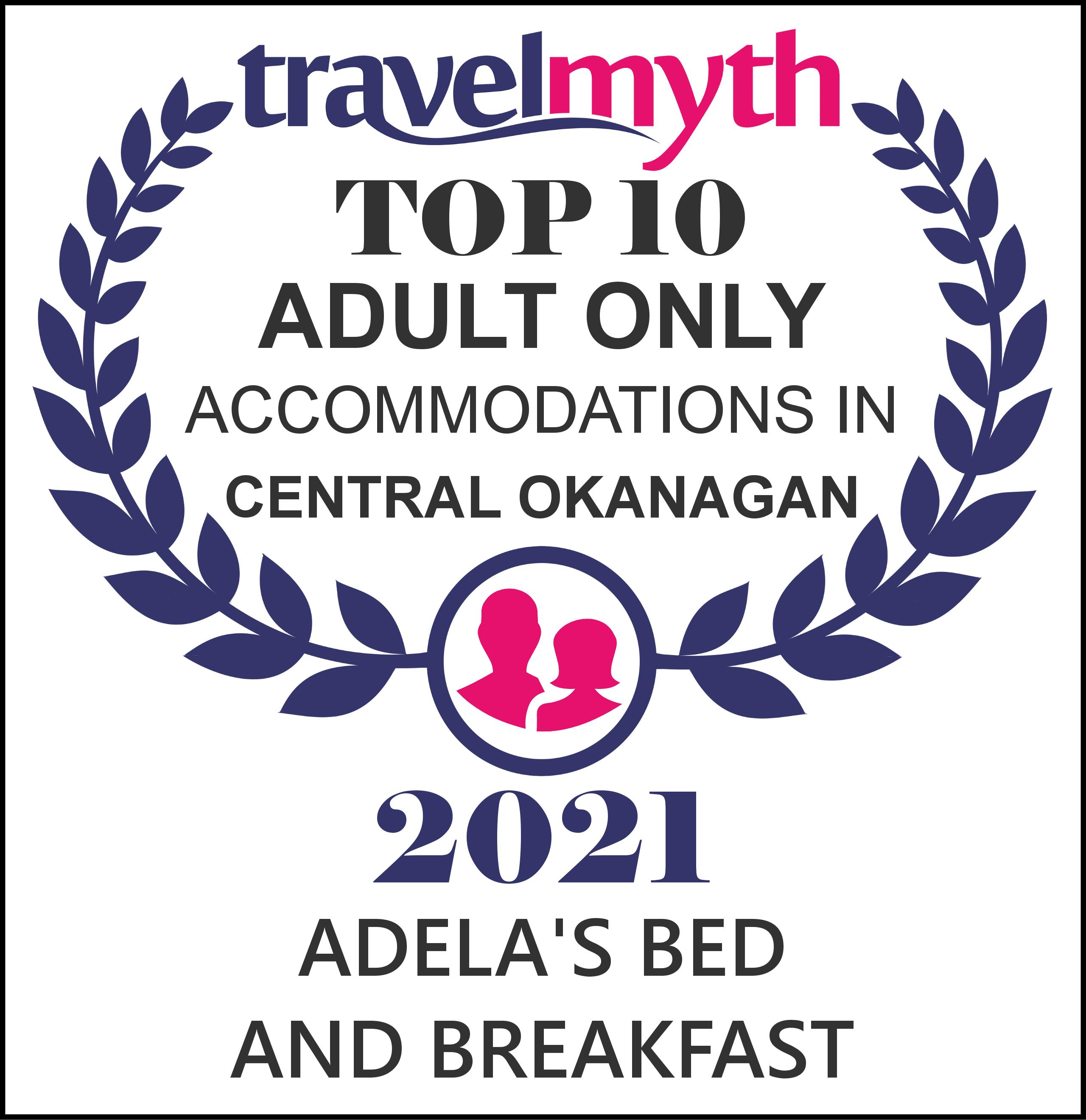 2021 - Top 10 Accomodation Award