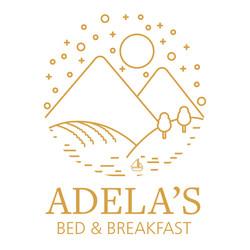 Adela's Logo (Gold on White)