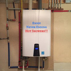Endless On-Demand Hot Water