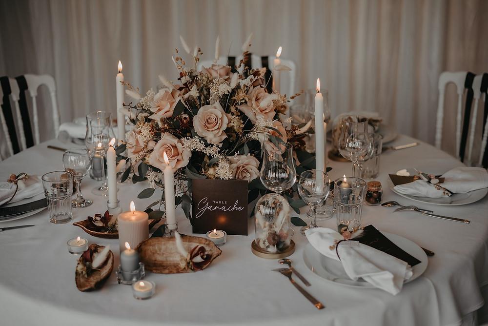 L'harmonie des couleurs et du style apporte une ambiance unique à votre mariage, c'est l'objet du Wedding Design