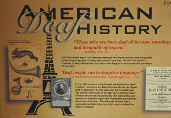 History of Deaf Culture