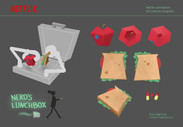 My submission for Netflix Animation Art trainee program / Prop design