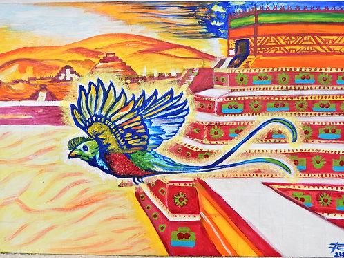 3.-Quetzal Teotihuacan. Templo de Quetzalcóatl