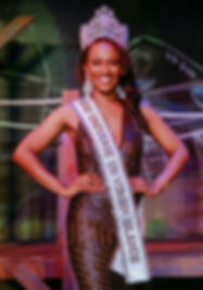 Aniska Tonge Miss Universe U.S Virgin Islands