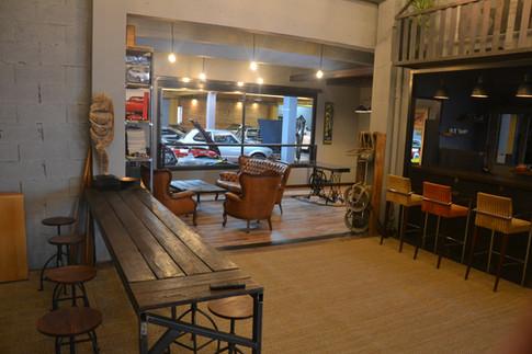 café automobile de collection