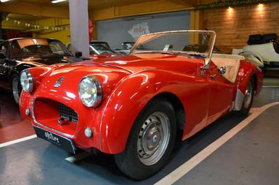 Triumph TR2 Petite bouche 1955