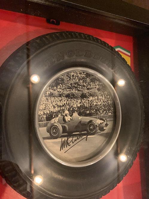 Signature d'époque de Maurice Trintignant en 1955