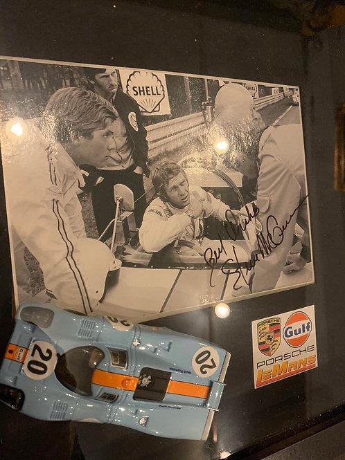 Rare signature de Steve McQueen