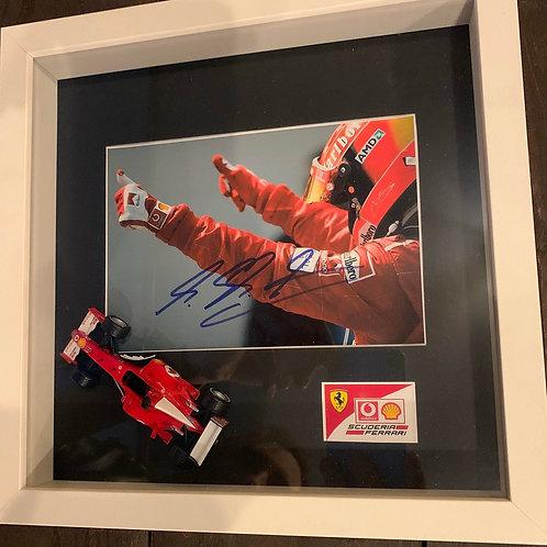 Signature Formule 1 Mickaël Schumacher 2002
