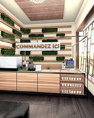 Interior commercial design - Opacite Zero design