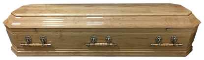 Solid pine Casket