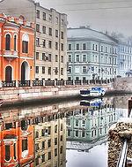 Paseo en barco en San Petersburgo