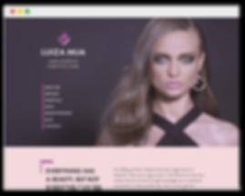 Сайт на wix для визажиста