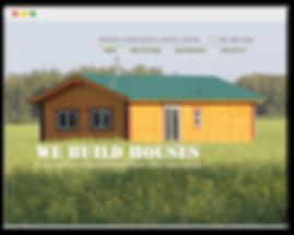 Сайт на wix (строительство домов)
