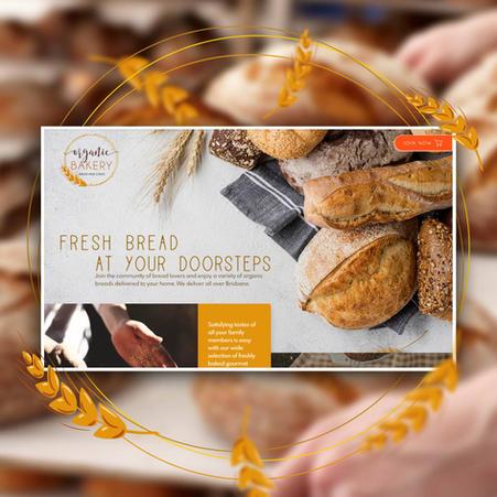Website design for fresh bread delivery   Australia