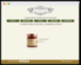 сайт на wix для магазина продуктов из Италии