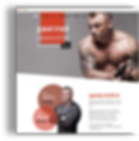 landing page for personal trainer