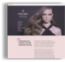 web-site for makeupartist