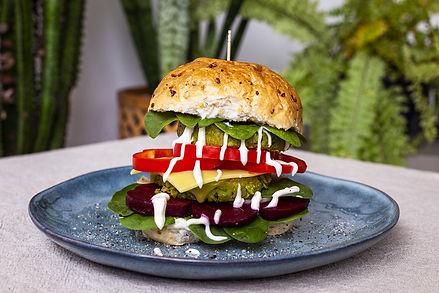 Green Goodness Burger Pattie